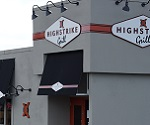 Pictue of entrance to High Strike Grill.